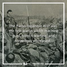 The Russo-Japanese War revolutionized warfare #russojapanese #facts #history