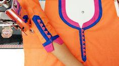 Beautiful matching neck and sleeves potli design - YouTube