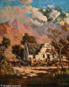 gabriel de jongh - Google Search Cape Dutch, South African Artists, Africa Travel, Artist Art, Art Paintings, Gabriel, Spanish, Places To Visit, Arts And Crafts