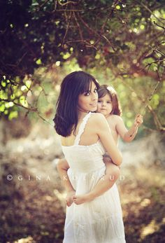 gorgeous mother-daughter photo...i need to recreate this!