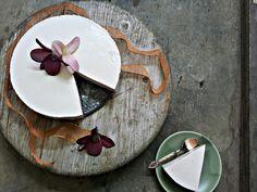 Banánový dortík s tvarohovo-medovým krémem (primal)