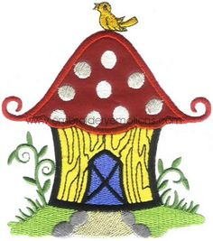Applique House - Machine Embroidery Designs