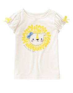 3acde6583524a Dandy Lion Tee at Gymboree Collection Name  Pocketful of Sunshine (2015)  Truc Mignon