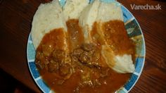 Goulash, Thai Red Curry, Mashed Potatoes, Pudding, Ethnic Recipes, Desserts, Mad, Red Peppers, Whipped Potatoes