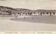 Motor lodges rt 301 baltimore maryland motels 1940s for Dynasty motors baltimore md