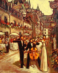 Oeuvres de l'artiste peintre Claude Bonneau Quebec City, Claude, Les Oeuvres, Montreal, Heaven, Painting, Image, Inspiration, Paint