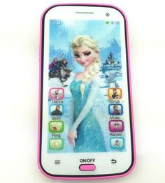 Girls Frozen Phone Touch Screen Children Toy Electronic Learning kids toys Gift – For Sale Little Girl Toys, Baby Girl Toys, Toys For Girls, Kids Toys, Minnie Mouse Toys, Frozen Toys, Baby Doll Accessories, Barbie Doll House, Baby Alive