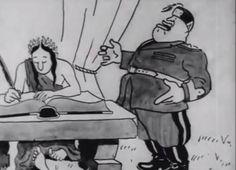 """Το ταινιάκι διάρκειας 7 λεπτών τιτλοφορείται """"Ο Ντούτσε αφηγείται""""(Il Duce narrates). Είναι η πρώτη ταινία κινουμένων σχεδίων που φτιάχτηκε ποτέ στην Ελλάδα. Ο ανιματ"""