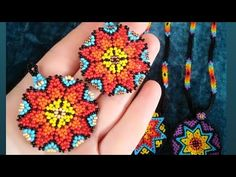 Beaded Earrings Patterns, Seed Bead Patterns, Beading Patterns, Seed Bead Jewelry, Bead Jewellery, Beaded Jewelry, Seed Bead Tutorials, Beading Tutorials, Diy Jewelry Unique