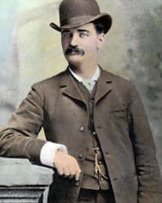 In 1877, Bat Masterson lived in Cheyenne, Wyoming.  He went on a five-week winning streak on the gambling tables, but he tired of the town and left when he ran into Wyatt Earp, who encouraged him to go to Dodge City, Kansas, where Bat's brothers Jim and Ed were working in law enforcement. http://www.cheyenne.org