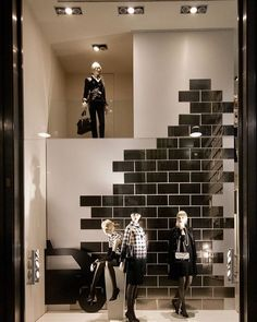 """LUISA SPAGNOLI BOUTIQUE, Italy, """"Listen Francesca... You know how some men buy really expensive cars to make up for certain shortages?... Well I...."""", photo by Vitrnistika, pinned by Ton van der Veer"""