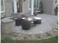 patio idea for the front of the house - Front Yard Patio Ideas