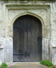 Church Door by Roberto Alamino Antique Door Knockers, Knobs And Knockers, Entrance Doors, Doorway, Medieval Door, Earth Bag Homes, Decorative Doors, Cottage Door, External Doors