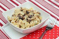 Farfalle with Shimeji mushrooms - Farfalle cu ciuperci Shimeji Potato Salad, Foodies, Main Dishes, Stuffed Mushrooms, Potatoes, Ethnic Recipes, Main Courses, Entrees, Potato