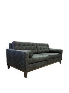 Armen Living Centennial Sofa, Charcoal
