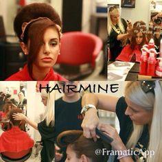 Hair by Ermi Sdrali visit us on www.hairmine.gr #hairstyle #hair #beauty #lovemywork