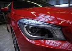 New Mercedes CLA - look at me :)    Photo: Marek Lasyk