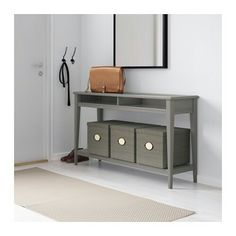 ikea liatorp console table greyglass cm can be placed behind a sofa along a wall or be used as a room divider