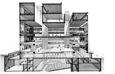Paul Rudolph | Art and Architecture Building for Yale University | 1958