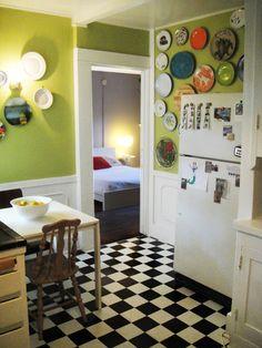 green kitchen ♡