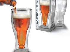 Hopside Down Beer Glass Was £12.99   Now £11.99 http://tidd.ly/879f6dda