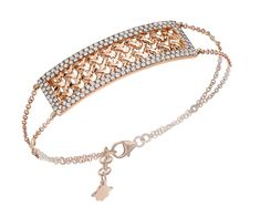"Bracelet, ""Moucharabieh"" Collection - Pink gold, diamonds"