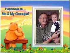 Me & GrandPa ! (thanks For Using My Kimi's)