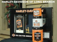 You have to check out our wall of home decor...from the kitchen to the mancave...your whole house is covered! Harley-Davidson/Buell of Long Branch www.hdlongbranch.com