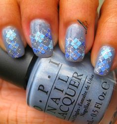 OPI I Don't Give A Rotterdam and Argyle Nail Decals @Emily Schoenfeld Schoenfeld Anton Nail