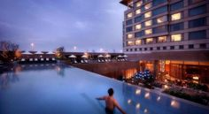 Crowne Plaza Today Gurgaon Gurgaon Located at NH8, Crowne Plaza Today Gurgaon is opposite Signature Towers, about a 15-minute drive from the Delhi International Airport. The hotel offers an infinity swimming pool, 2 dining options and a fitness centre. Free WiFi is available.