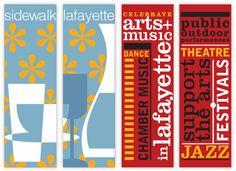 City of Lafayette Banner System   Morla Design