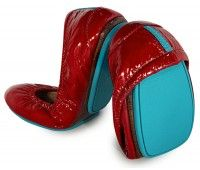 Ruby Red Patent from Tieks.com Great for travel shoes according to @tshoxenreider!
