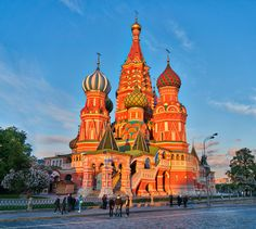 Basil's Cathedral in Red Square Beautiful Photos Of Nature, Nature Photos, Optical Illusion Wallpaper, Lake Wakatipu, St Basil's, Hdr Photography, Optical Illusions, Daily Inspiration, Barcelona Cathedral