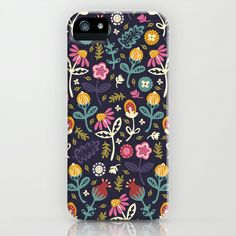 Ditsy Flowers iPhone Case by Poppy & Red - $35.00