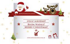 ¡FELIZ NAVIDAD! BUON NATALE! MERRY CHRISTMAS!