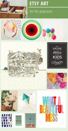 Playful Art for the Playroom - Rambling Renovators