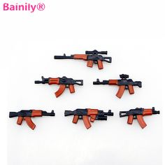 $1.88 (Buy here: https://alitems.com/g/1e8d114494ebda23ff8b16525dc3e8/?i=5&ulp=https%3A%2F%2Fwww.aliexpress.com%2Fitem%2FBainily-6pcs-Military-Weapon-Building-Blocks-Mini-Rifle-Sniper-Rifle-Submachine-Gun-Set-Compatible-With%2F32797654353.html ) [Bainily]6pcs Military Weapon Building Blocks Mini Rifle Sniper Rifle Submachine Gun Set Compatible With Legoe Toys For Chilren for just $1.88