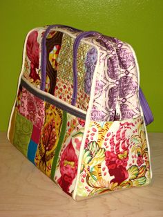 alimakes: The Long Weekender Sew Along Tula Pink Bag Finished