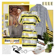"""Elle....Banggood #18."" by carola-corana ❤ liked on Polyvore featuring JuJu, DRKSHDW and BangGood"