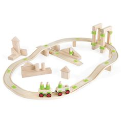 """""""The Foundation Blocks Roadway Set A 55 Pieces is designed to exercise early engineering concepts, collaboration, and the study of matter, motion and mathematics. Each Foundation Set includes Concept Cards for building examples and language associations. Introduction To Physics, Foundation Sets, Block Play, Wooden Car, Soft Plastic, Dramatic Play, Creative Play, Fine Motor Skills, Math Activities"""