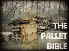 Picture of The Pallet Bible: Finding, Inspecting, and Dismantling Pallets❤Hippie Hugs with Lღve, Michele❤