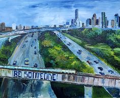 "Be Someone 24"" x 30"" Oil on Canvas  Lauren Luna"