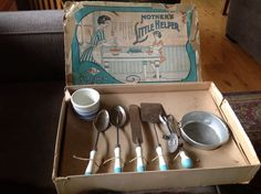 Vintage A&J Mother's Little Helper Kitchen Tools