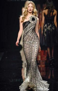 Zuhair Murad RTW Fall 2009 One Shoulder Gown