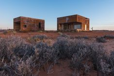 Mexican Water Cabins on the Navajo reservation  in Colorado by Design Build BLUFF