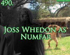 Little Buffy things 490. Joss Whedon as Numfar in Angel.