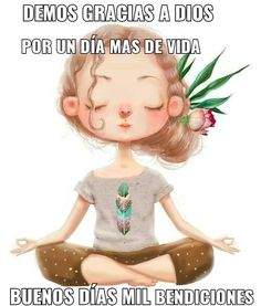 Namaste, Spanish Greetings, Les Nails, Morning Messages, Spiritual Quotes, Disney Characters, Fictional Characters, Disney Princess, Anime