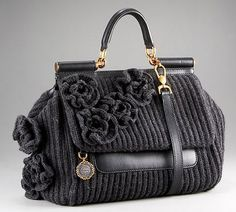 dolce gabbana crochet bags - Google Search