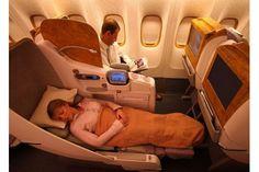 Emirates Lie-Flat Business Class Seat