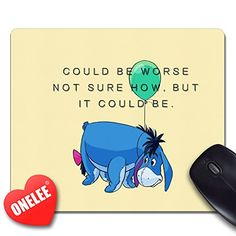 Onelee Disney Eeyore Rectangular Mouse Pad - Winnie the Pooh Mouse Pad - Gaming Mouse Pad Onelee http://www.amazon.com/dp/B010NOE350/ref=cm_sw_r_pi_dp_aQVHwb0M21355